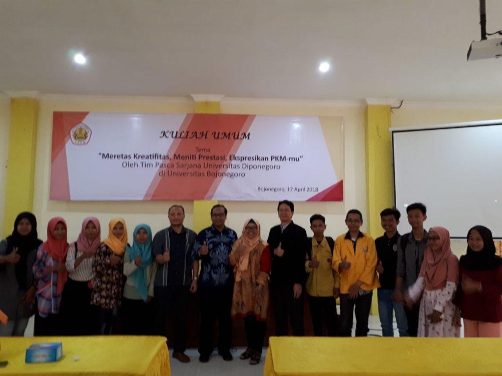 Kuliah Umum Bersama Tim Sekolah Pascasarjana Universitas